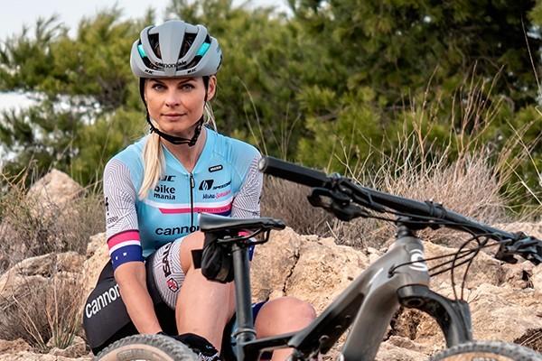 Misha Sekulova mtb rider